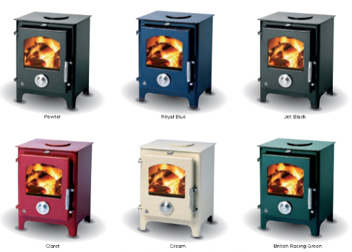 Trianco Newton 5kW Classic Stove - Stove Shop, Budget Stoves, Cheap Wood Burning, Multi Fuel Stoves