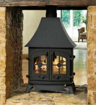 Yeoman Devon Double-Sided Gas Stove
